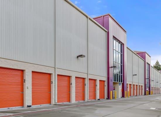 Drive-up storage units in San Jose, California