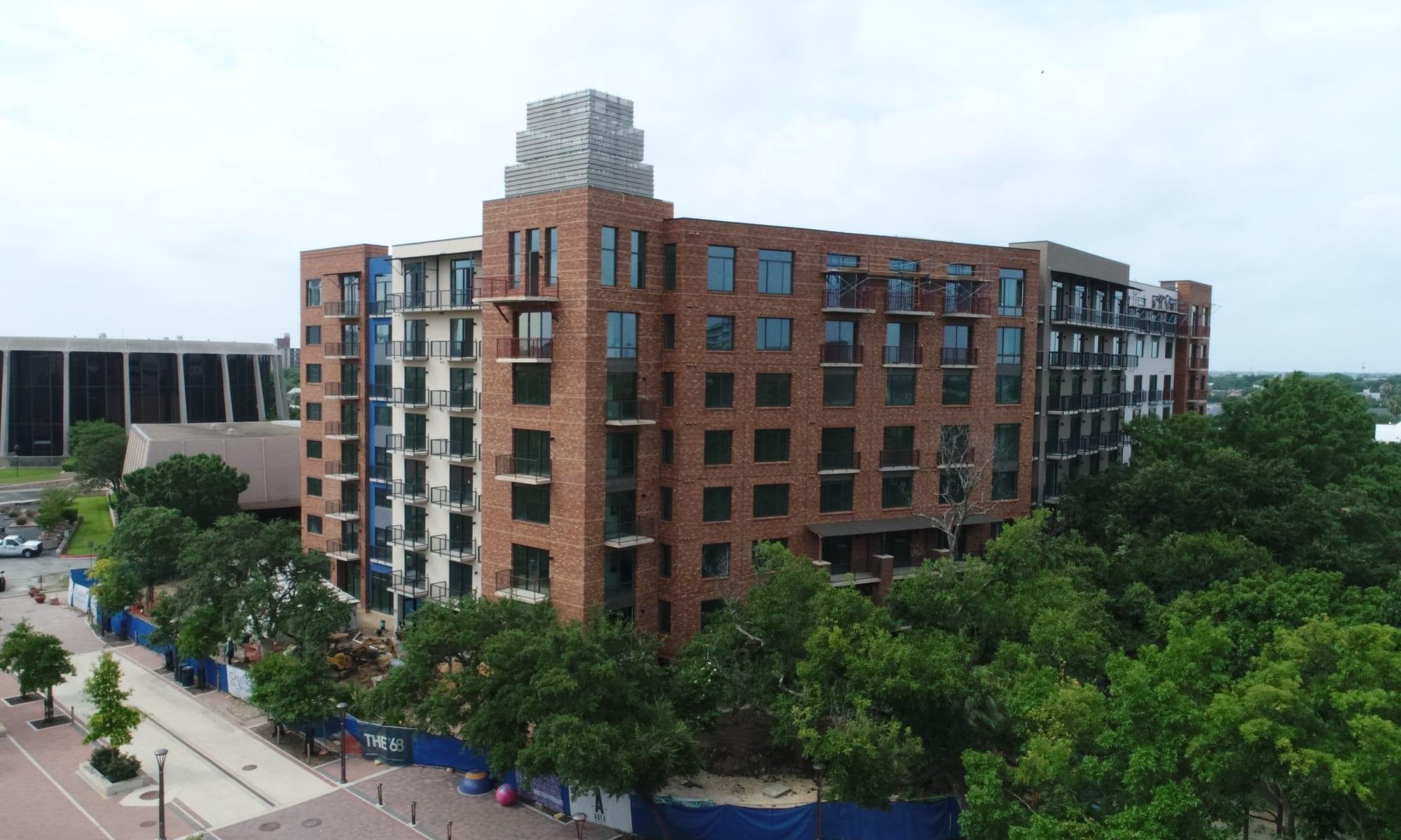 Apartments at The '68 in San Antonio, Texas