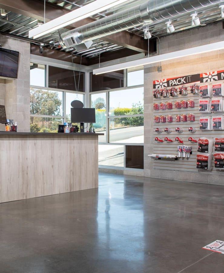 Leasing office at StorQuest Self Storage in Walnut Creek, California
