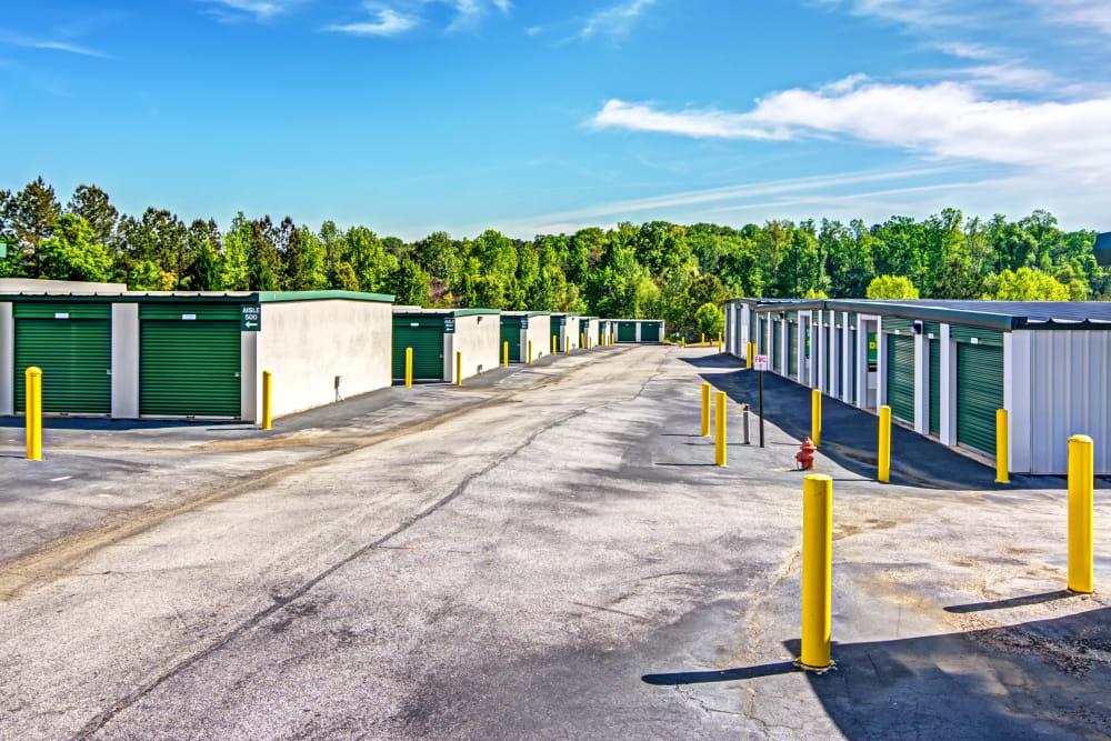 Outdoor units at Metro Self Storage in Stockbridge, Georgia