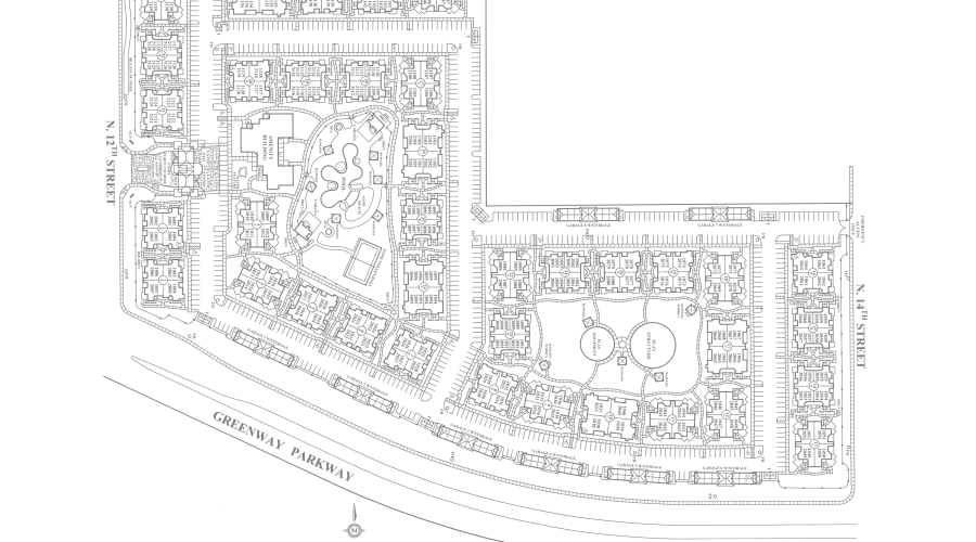 San Pedregal site plan