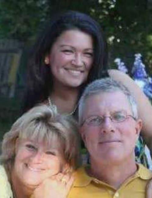 Happy family of three at Inspired Living Bonita Springs in Bonita Springs, Florida.