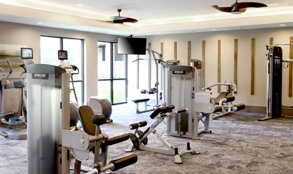 Fitness Center at Axis at The Rim