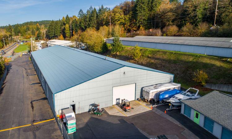 Glacier West Self Storage storage units in Belfair, Washington