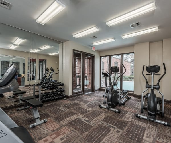 Stay healthy in the Rock Creek fitness center