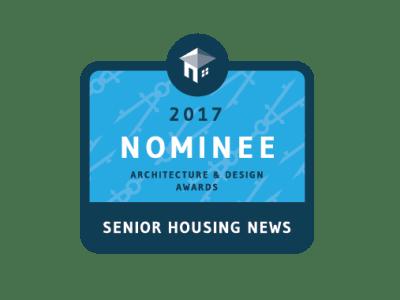 Senior Housing News architecture & design award nominee logo