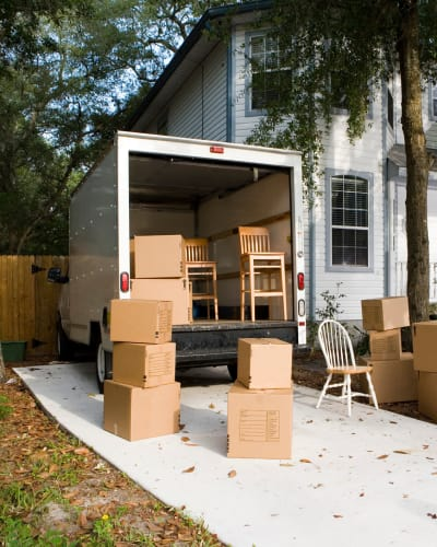 We offer moving trucks for rent at Neighborhood Storage in Ocala, Florida