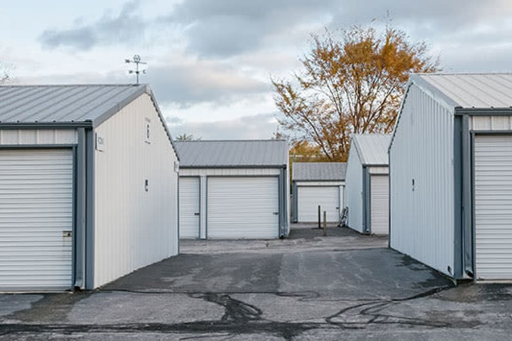 Exterior storage units in a variety of sizes at StayLock Storage in Valparaiso, Indiana