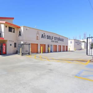 Gated access at A-1 Self Storage in San Diego, California