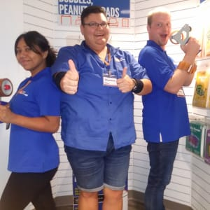 The amazing staff at A-1 Self Storage in Anaheim, California