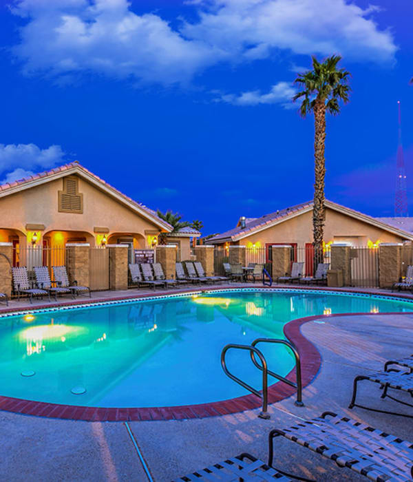 Wonderful amenities at Portola Del Sol in Las Vegas