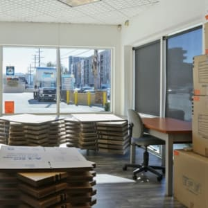 Inside the office at North Hollywood, California at A-1 Self Storage