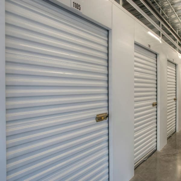 Climate controlled indoor storage units at StorQuest Self Storage in Boulder, Colorado
