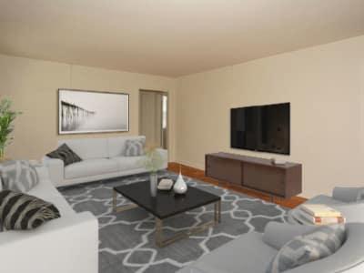 1 & 2 Bedroom Apartments in Highland Park, NJ | Harper House ...