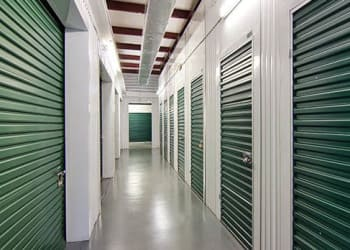 Climate-controlled storage units at Metro Self Storage in Naperville, Illinois