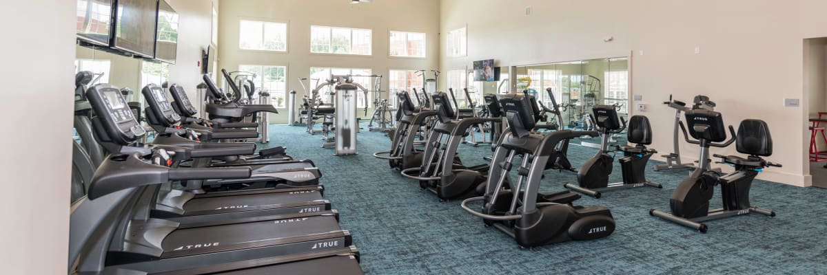 Fitness Center and other luxury amenities at our apartments in Fredericksburg, Virginia