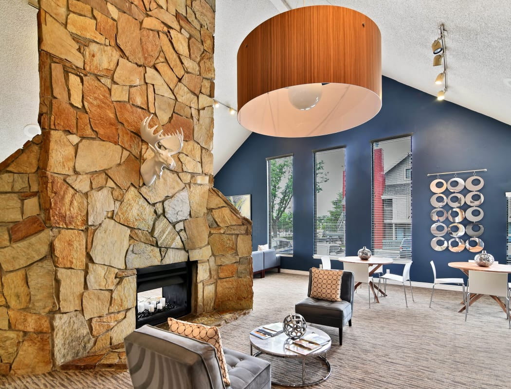 Renovated clubhouse at Seven65 Lofts in Salt Lake City, Utah