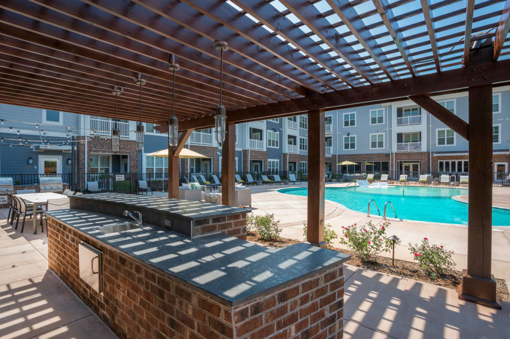 Enjoy apartments with a swimming pool that is great for entertaining at Alta Citizen