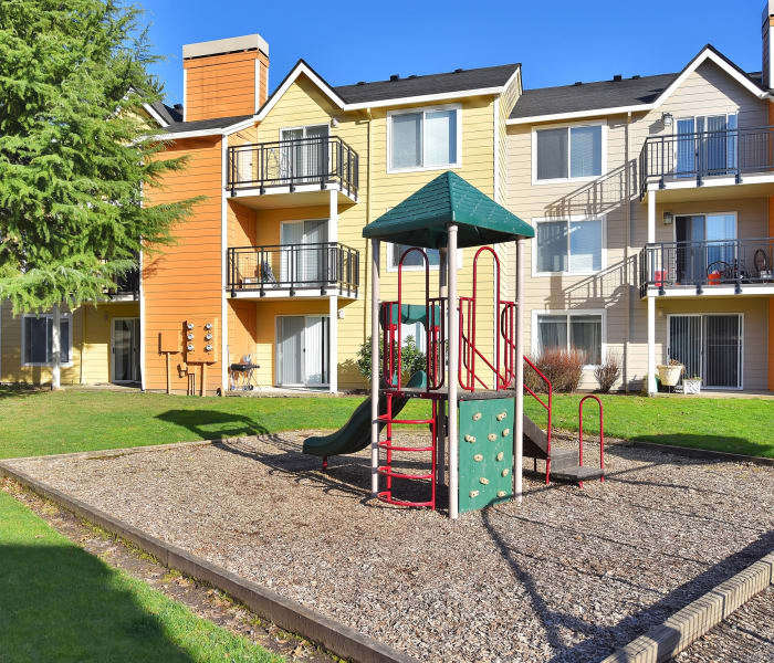 Playground area at Preserve at Sunnyside Apartments