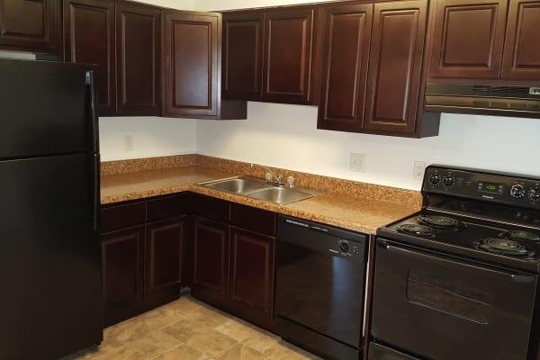 Enjoy a modern kitchen at Beech Meadow Apartments