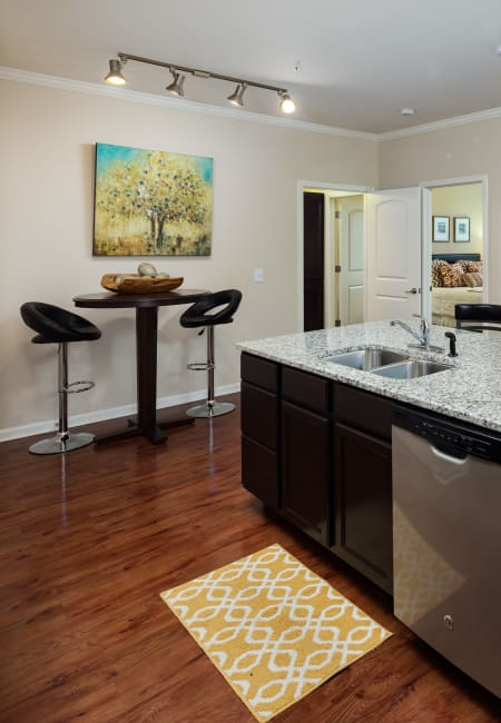 Interior of unit at The Preserve at Hardin Valley in Knoxville