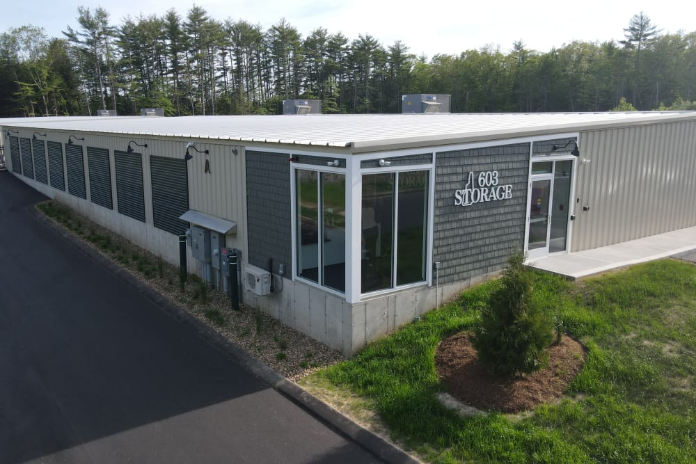 An inviting front office at 603 Storage - Lee in Lee, New Hampshire