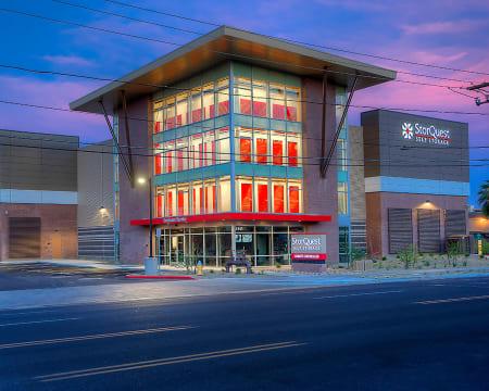 Store front at StorQuest Self Storage in Buckeye, AZ