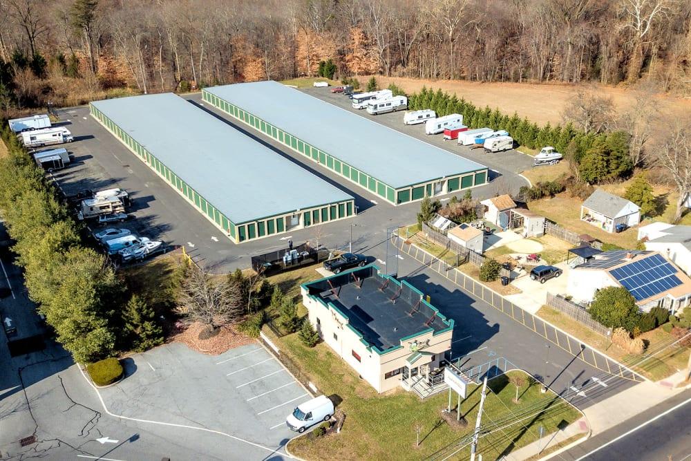 Aerial view of Laurel Self Storage in Lindenwold, NJ