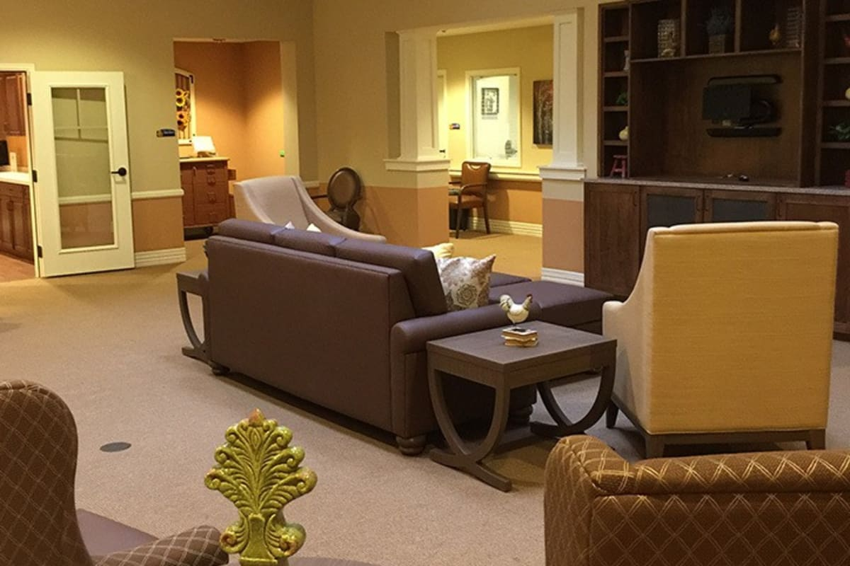 Common areas at New Dawn Memory Care in Colorado Springs, Colorado