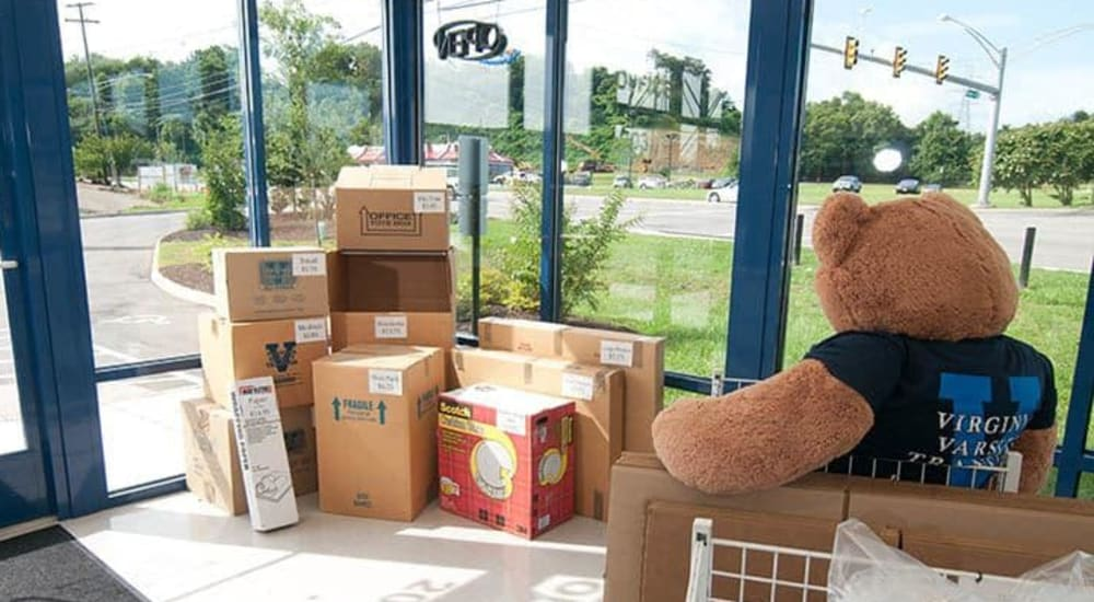 Boxes and supplies sold at Virginia Varsity Transfer & Storage in Salem, Virginia