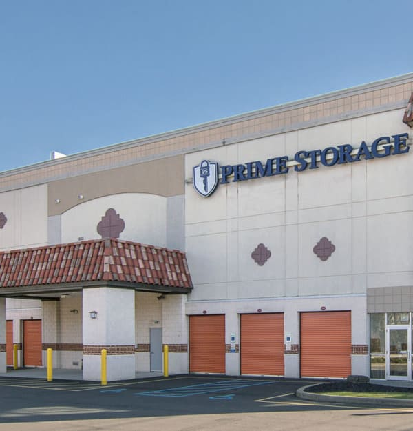 Exterior of a Prime Storage in Saratoga Springs, NY