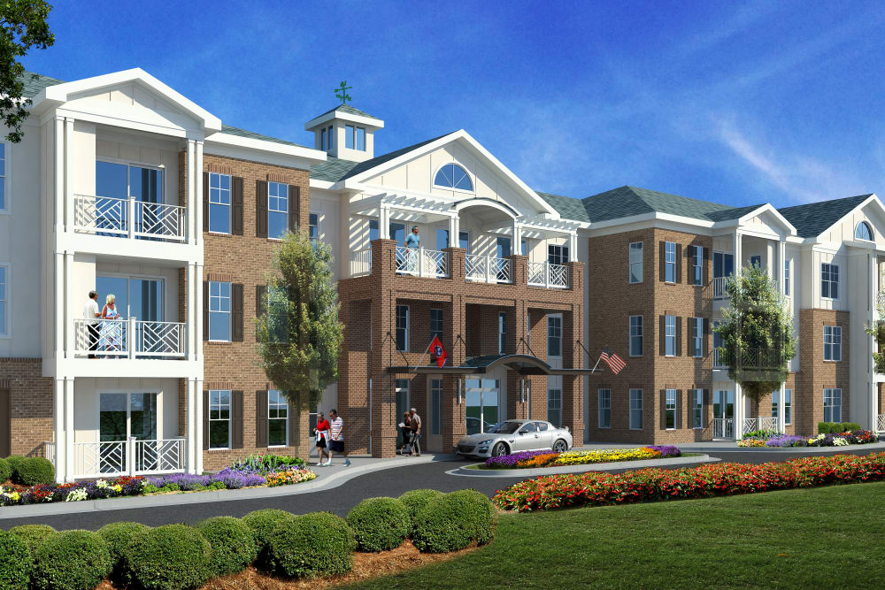 Exterior rendering of Avenida Cool Springs in Franklin