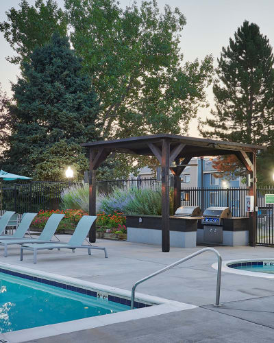 Tanning room in our amenities at Alton Green Apartments in Denver