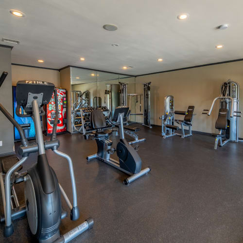 View virtual tour of the fitness center at Trails of Towne Lake in Irving, Texas