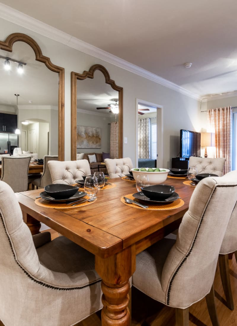 View our floor plans at Marquis at the Reserve in Katy, Texas