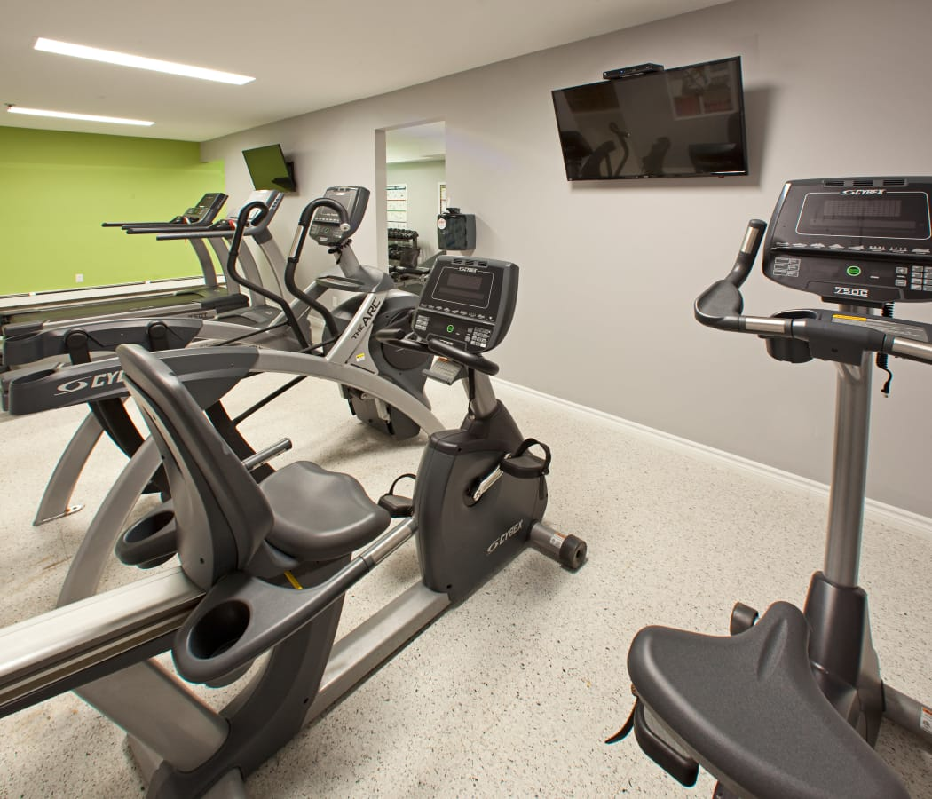 Fitness center at StoneCrest Village in Halifax