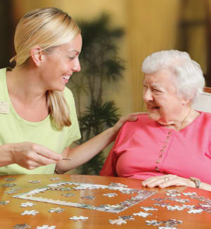 Memory care callout at Tequesta Terrace in Tequesta, Florida