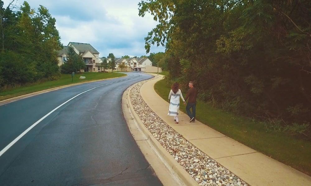 Auburn Gate has a beautiful neighborhood