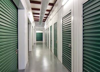 Climate-controlled storage units at Metro Self Storage in Riverview, Florida