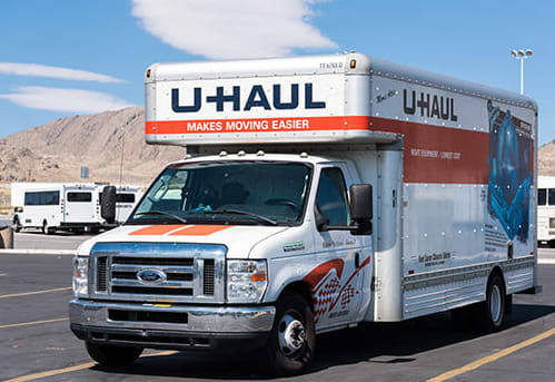 Moving truck available at Towne Storage in Las Vegas, Nevada