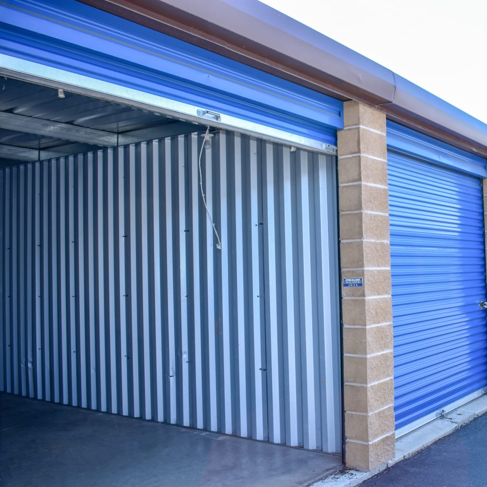A large storage unit at STOR-N-LOCK Self Storage in Riverdale, Utah