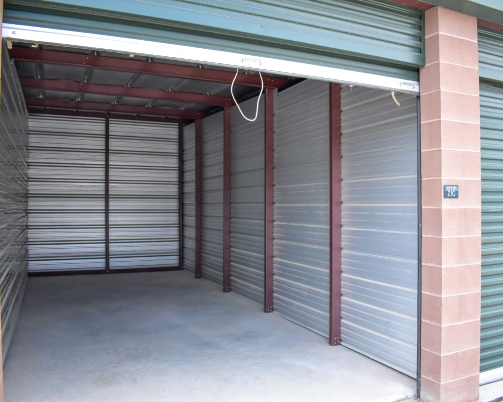 Enclosed auto storage at STOR-N-LOCK Self Storage in Gypsum, Colorado