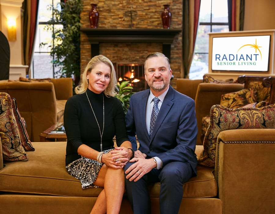 James and Jodi Guffee of Radiant Senior Living