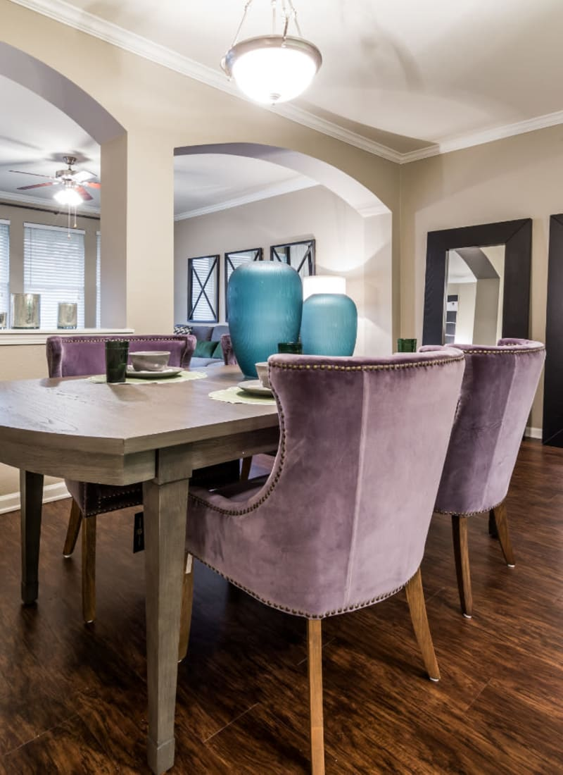 View our floor plans at Marquis at The Cascades in Tyler, Texas