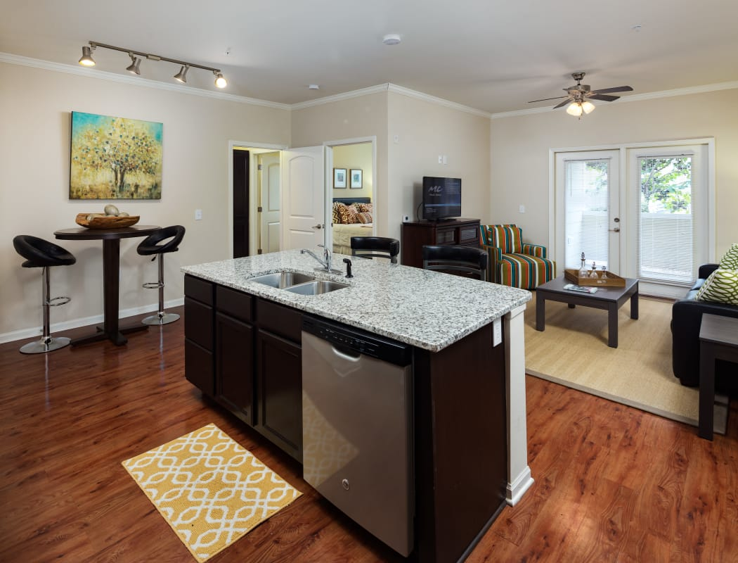 The Preserve at Hardin Valley model unit in Knoxville, Tennessee