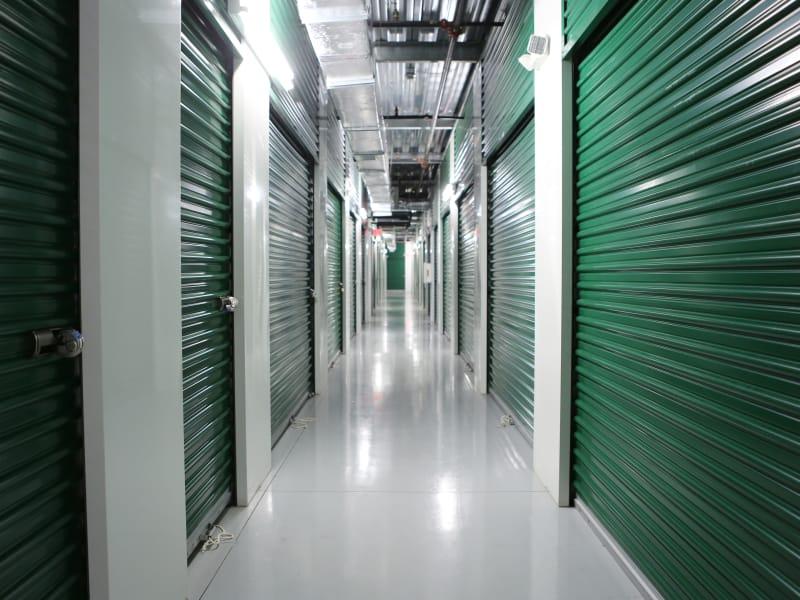 Interior units at Midgard Self Storage in Bradenton, Florida