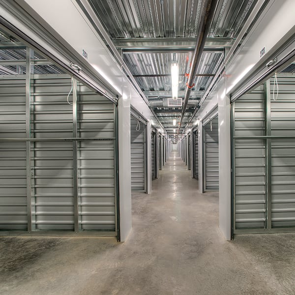 Open climate-controlled units at StorQuest Self Storage in Phoenix, Arizona