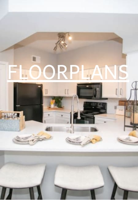 View floor plans for apartments in Alpharetta, GA