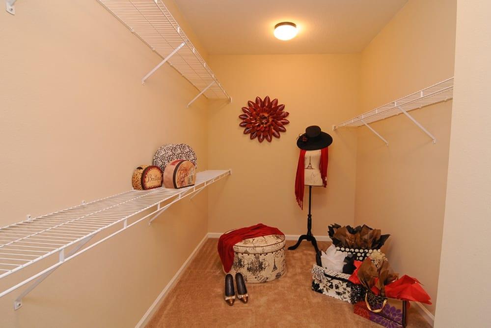 Closet at apartments in Cordova