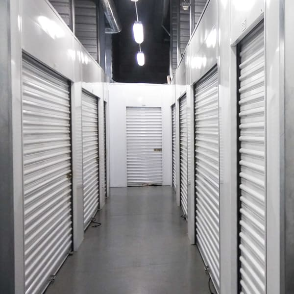 Climate controlled indoor units at StorQuest RV/Boat and Self Storage in Indio, California
